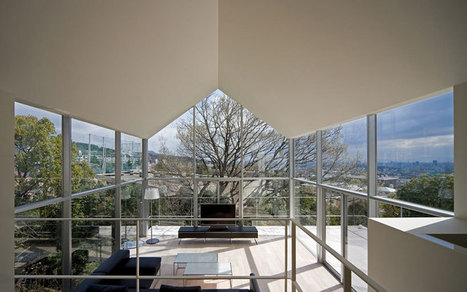 house with oak tree by maniera architects and associates - designboom | architecture & design magazine | Design&Architecture | Scoop.it