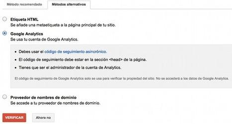 """Utiliza Google Webmaster Tools para conocer el """"Not Provided""""   MediosSociales   Scoop.it"""