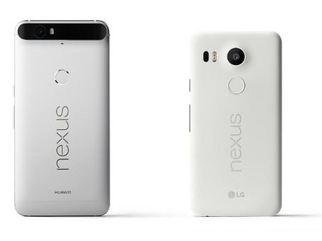 Google Launches Nexus 5X And 6P Smartphones In India Running Android Marshmallow 6.0 | Technology News | Scoop.it