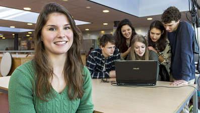 Dankzij Hester Vogels (21) snapt iedereen wiskunde - AD.nl | Innovatieve eLearning | Scoop.it