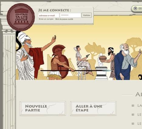 Construis ta cité grecque – Un jeu ludo-éducatif historique proposé par Curiosphere.tv   Classical Geek   Scoop.it