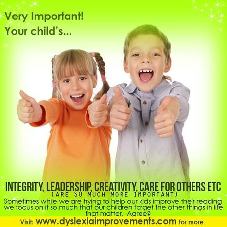 Motivating Your Dyslexic Child   Health   Scoop.it