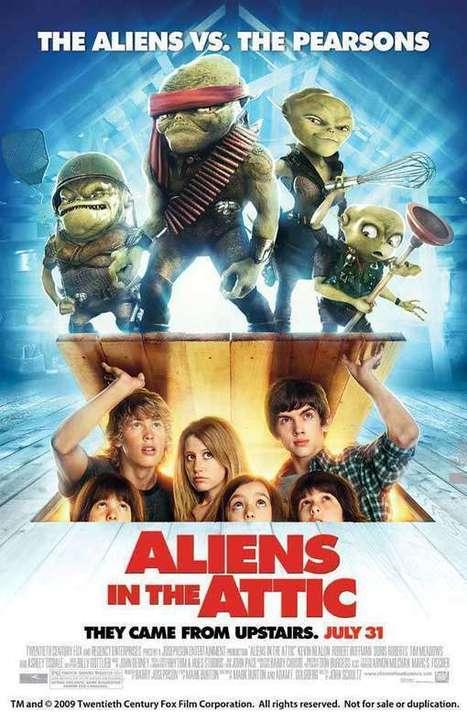 Evimde Uzaylı Var Aliens in the Attic Türkçe Dublaj Tek Part izle   filmizlegec   Scoop.it