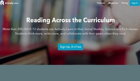 Actively Learn, para crear, distribuir, evaluar las actividades de lectura - Nerdilandia | Educacion, ecologia y TIC | Scoop.it