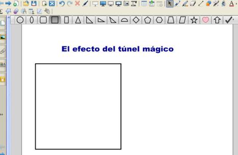 El efecto del túnel mágico | Tecnología y Educación | Usos educativos de la PDI | Scoop.it