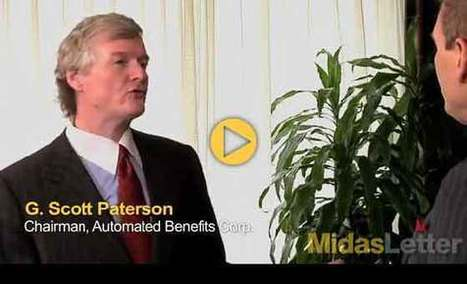 Automated Benefits Chairman G. Scott Paterson Talks Cloud Computing and Insurance on Midas Letter Money - Midas Letter | Scott Paterson info | Scoop.it