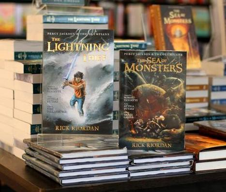 Twitter / _FullyBooked: The Lightning Thief and The ... | Middle School Literature | Scoop.it
