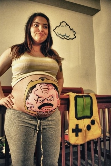 Behold, the Ultimate Pregnant Cosplay: Krang's Body | Cosplay News | Scoop.it