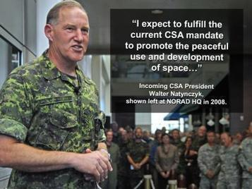 Canadian Space Agency President Pick Prompts Military Takeover Talk | More Commercial Space News | Scoop.it