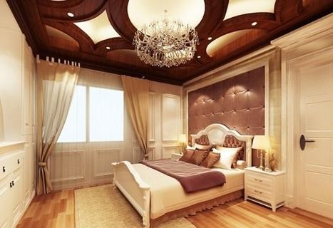 Quyến rũ với phòng ngủ thiết kế Tân Cổ Điển tông màu trầm | Kiến thức Seo | Scoop.it