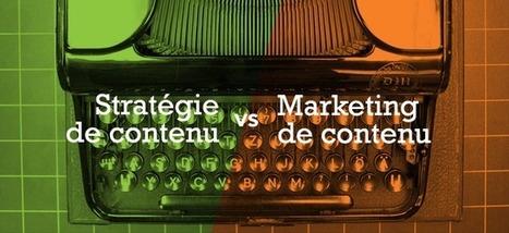 Clarifier la différence entre marketing de cont... | presse & journalisme | Scoop.it