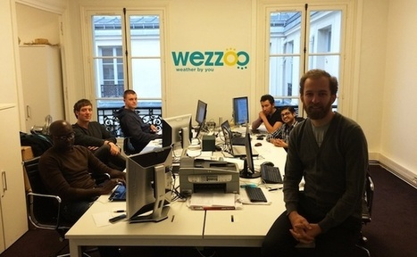 Wezzoo lève 500 000 euros pour son application de crowdsourcing météo | FrenchWeb.fr | Weather By You | Scoop.it