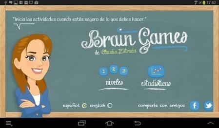 Brain Games de Claudia Estrada - Applications Android sur GooglePlay   Psico-dinamicas   Scoop.it