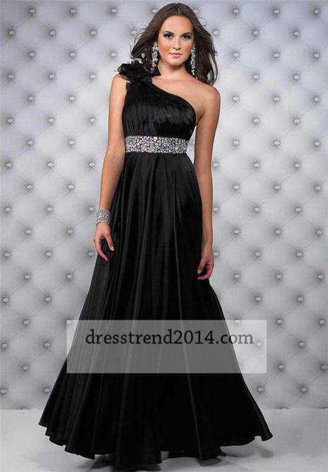 Black Beaded One Shoulder Long Evening Dresses 2014 [long black dress] - $178.00 : Cheap Prom Dresses 2014,Affordable Junior Prom Dresses | prom dresses 2014 | Scoop.it