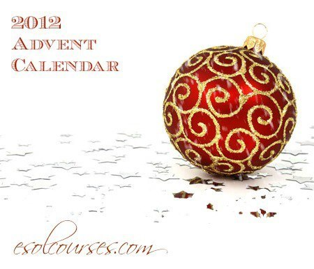 ESL Advent Calendar 2012   Languages, ICT, education   Scoop.it