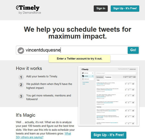 Savoir à quelle heure Twitter afin d'avoir le meilleur impact | Agence E-réputation | Scoop.it