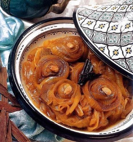 Recette de tajine d'oignons caramélisés   Tajines   Scoop.it