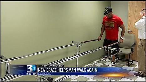 Partially paralyzed man walks again thanks to new technology - WBTV | Differently Abled and Our Glorious Gadgets | Scoop.it
