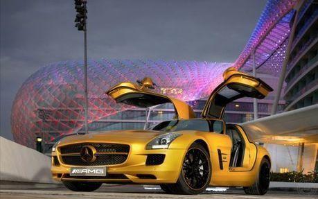 Mercedes Benz Sls Amg Desert Gold | Cars wallpaper | Scoop.it