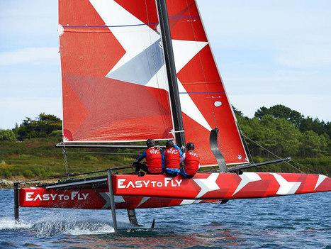 Les catamarans à foils décollent | L'ECO NAUTISME | Scoop.it