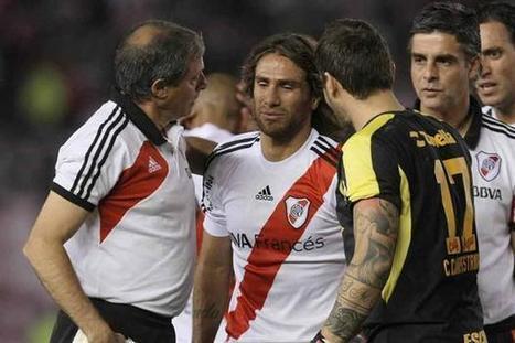 Se lesionó Ponzio, ¿llega al superclásico? | Futbol Argentino | Scoop.it