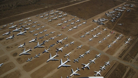 The World's Most Bizarre Aircraft Graveyards | Everything connects to marketing: thought leadership in a marketing world | Scoop.it