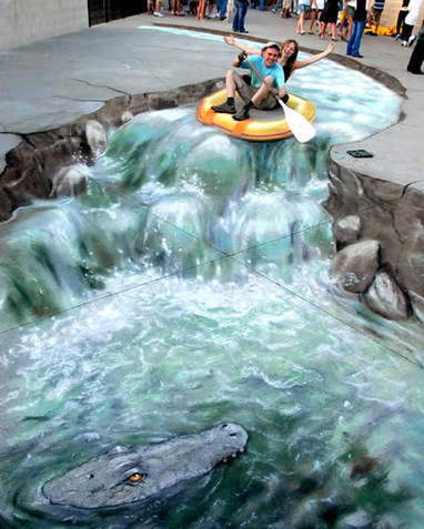11 Mesmerizing 3D Chalk Art Masterpieces That Will Melt Your Brains | xposing world of Photography & Design | Scoop.it