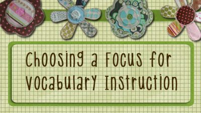 Choosing a Focus for Vocabulary Instruction | AAC & Language Intervention | Scoop.it