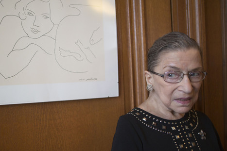 Ginsburg To Become First Justice To Officiate Same-Sex Wedding | male and female gender representations in media | Scoop.it
