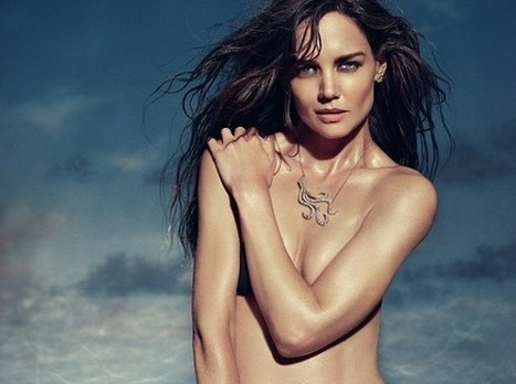 Katie Holmes, Tom Cruise's ex-wife, bares topless for jewellery ad - What's on Xiamen | Sex Marketing | Scoop.it