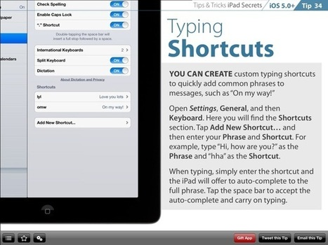 Review of Tips and Tricks - iPad Secrets | Apparels | Scoop.it