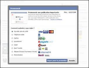 Bouton promouvoir de Facebook : la face grand public de l'edgerank | CommunityManagementActus | Scoop.it