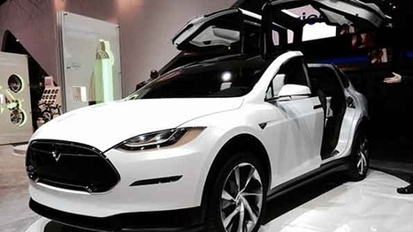 The Curtain Lifts on Tesla's Model X SUV | Manufacturing Professionals | Scoop.it