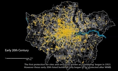Visualizing London's Evolution From Roman Times to Today   Design Without Borders   Scoop.it