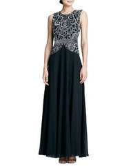 Beaded Bodice Georgette Gown | cosplay | Scoop.it