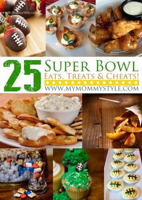 Superbowl Sunday – 25 Game Day Appetizers, Snacks and Foods   Cooking   Scoop.it