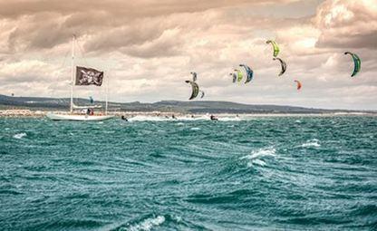 Première journée historique pour le DEFI Kite de Gruissan - ActuNautique | kitesurf | Scoop.it