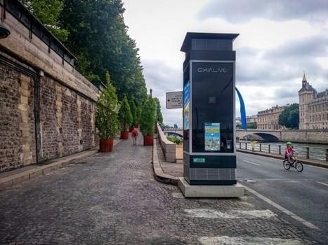 » France : Oxialive re-déploie sa colonne digitale à Paris   Affichage dynamique et PLV   Scoop.it