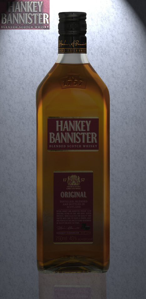 Hankey Bannister Blended Scotch Whisky - WhiskeyOK | The Top Whiskey Brands | Scoop.it