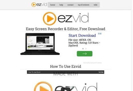 10 Free Screen Recorders | Inspirationfeed | health and medical library | Scoop.it