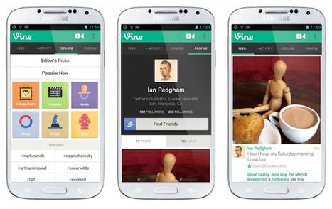 Vine y los micro-videos, cómo generar contenidos de valor para tus clientes | Videos en la red | Scoop.it