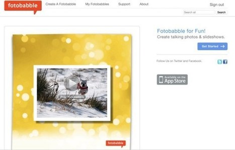 Fotobabble. Faites parler vos photos | Tice | Scoop.it