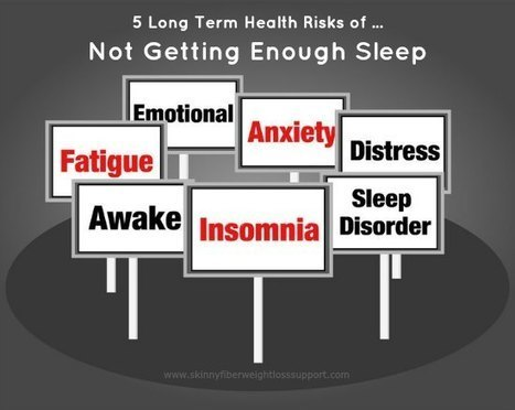 5 Long Term Health Risks Of Not Getting Enough Sleep | Health | Scoop.it
