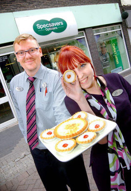 Specsavers ready to serve up treats for soldiers charity - Worcester Standard | Specsavers | Scoop.it