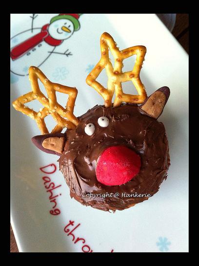 Christmas Reindeer Nutella Cupcakes | Baking | Scoop.it