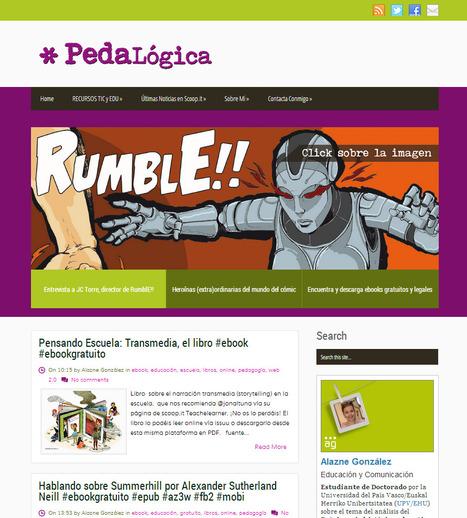Nueva imagen del blog sobre #TIC #educación y #comunicación #PedaLógica de @alaznegonzalez | Feminismos y Género: por un mundo sin discrimación | Scoop.it