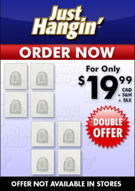 Just Hangin Hooks - As Seen on TV Canada | As Seen on TV | Scoop.it