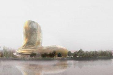 À Bordeaux, le chantier de la Cité des civilisations du vin est lancé   Actualités   Architecture   Scoop.it