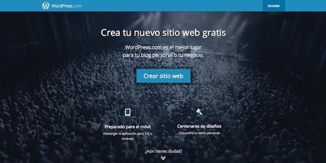 4 plataformas gratuitas para crear tu propio blog desde cero | desdeelpasillo | Scoop.it