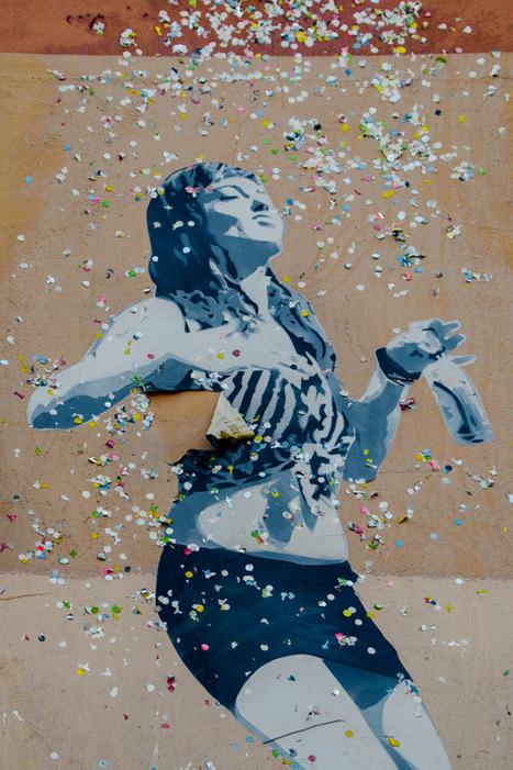 Following the Dancing Street Art Girls in Berlin | World of Street & Outdoor Arts | Scoop.it